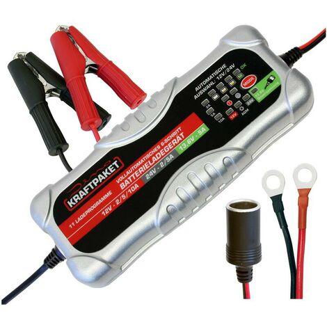 Chargeur de batterie automatique 12V-24V 6 étapes - SLB-10ADino