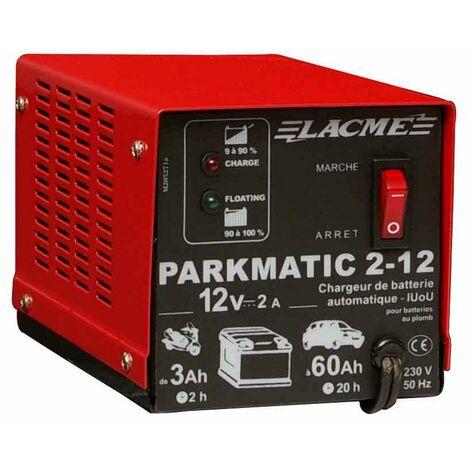 chargeur de batterie automatique parkmatic 2-12, 2amp, 12v