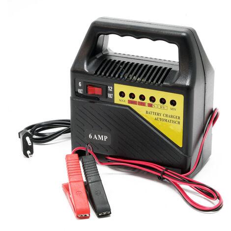 """main image of """"Chargeur de batterie automobile 6V 12V Appareil de charge Portable Batterie Véhicule Affichage LED"""""""