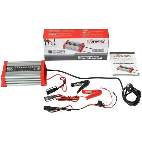 Chargeur de batterie entièrement automatique avec fonction de camping R628631