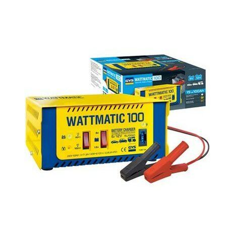 CHARGEUR DE BATTERIE GYS WATTMATIC 100 6/12 VOLTS