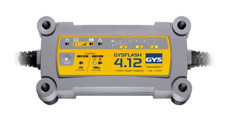 Déstock - Gys - Chargeur de batterie 12V 70Ah / 130Ah - GYSFLASH 4.12