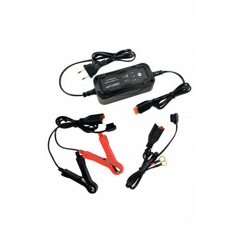 Chargeur de batterie moto - maintien de charge 6V / 12V