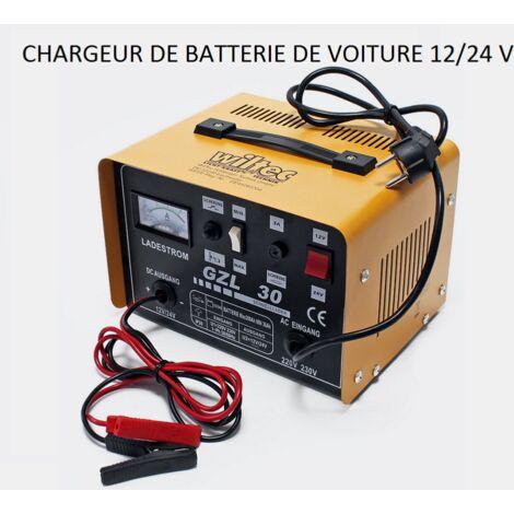chargeur de batterie pour auto moto voiture 12 24 v wc. Black Bedroom Furniture Sets. Home Design Ideas