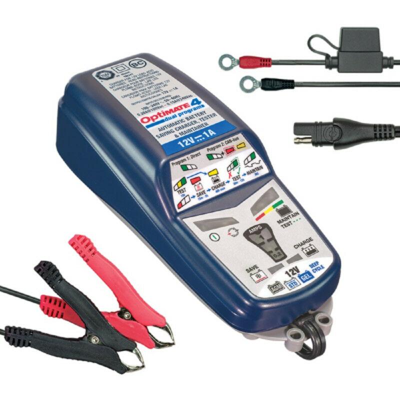 Chargeur de batterie Optimate 4 Dual Program 12v 1A TM-340 - Tecmate