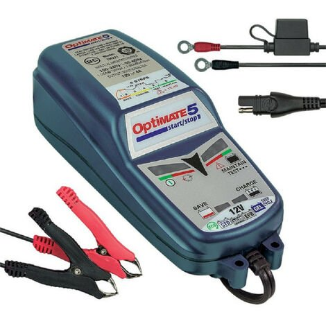 Chargeur de batterie TECMATE Optimate 5 Start/stop 12V 4A TM-220