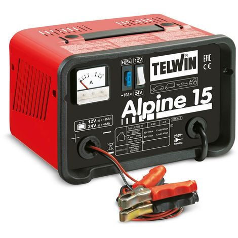 Chargeur de Batterie TELWIN Alpine 15 807544