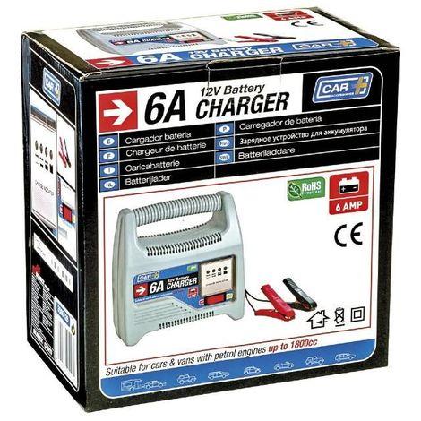 Chargeur de batterie voiture 12V 6AMP Moto , quad , scooter