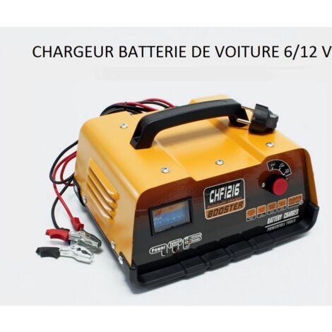 Chargeur de batterie voiture 6v / 12v WC