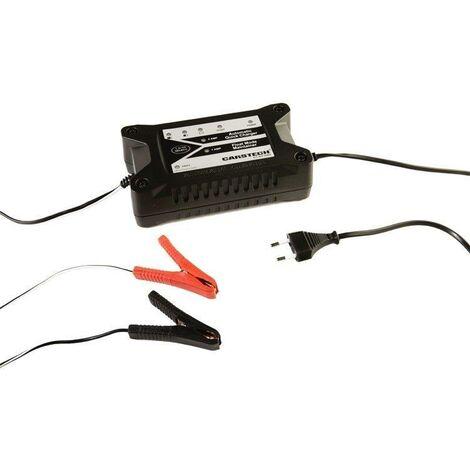 Chargeur de batterie voiture , moto + maintien de charge