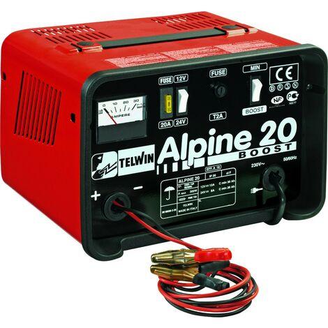 Chargeur de batteries 12/24V 18/12A Alpine 20 boost - S04461