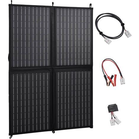 Chargeur de panneau solaire pliable 100 W 12 V