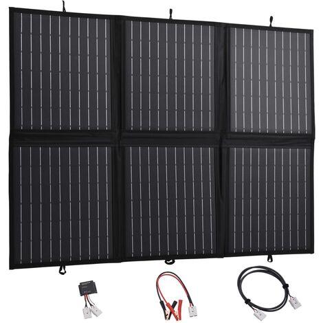 Chargeur de panneau solaire pliable 120 W 12 V