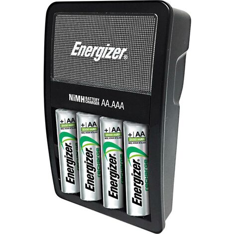Chargeur de piles rondes NiMH avec accus Energizer Maxi Charger