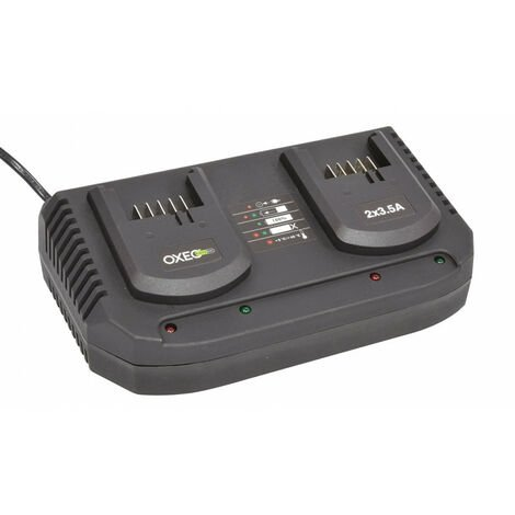 Chargeur double super rapide batterie 18V Easy Full - 2X 3.5A
