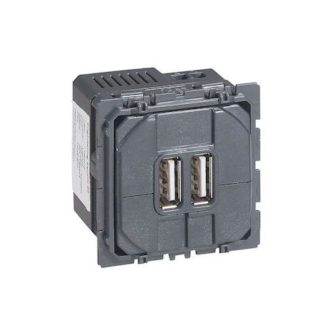 """main image of """"Chargeur double USB Céliane TypeA 24A 12W - autre"""""""