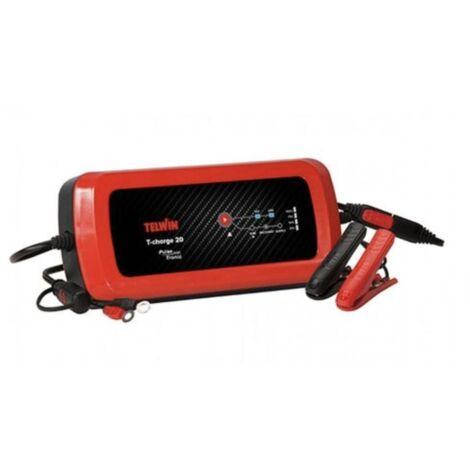 Chargeur électronique de batterie mainteneur de charge 12/24V T-charge 20 batterie plomb-110w TELWIN S04436