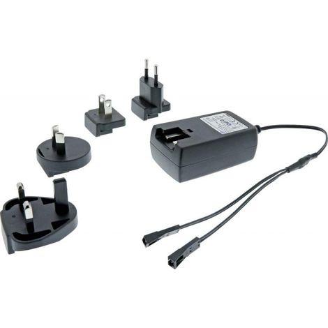 Chargeur EVG 12VDC 10W Adapter 100-240V, 50/60Hz