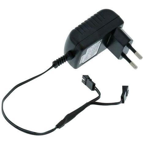 Chargeur EVG 12VDC 6W 100-240VAC, 50/60Hz