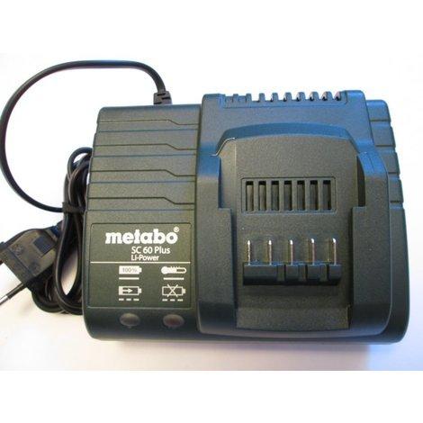 Chargeur METABO SC 60 Plus 14,4V et 18V li-ion