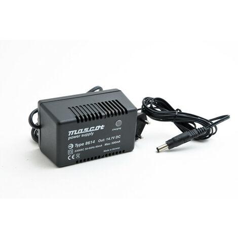 Chargeur plomb 12V/0.5A 230V Mascot 8614 (Intelligent) Outplug 5.5x2.1mm