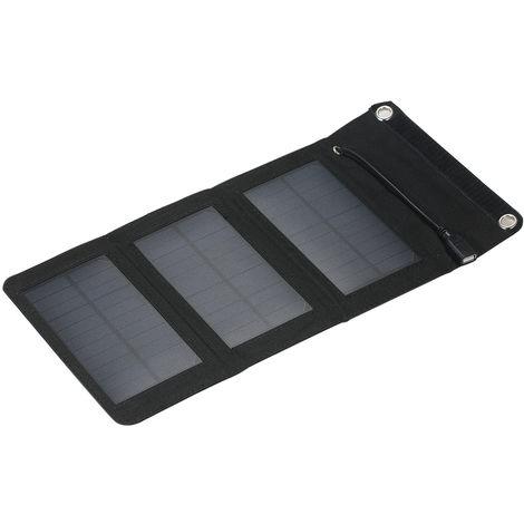 Chargeur Portable Usb Chargeur Panneau Solaire Pliable 5W 5V