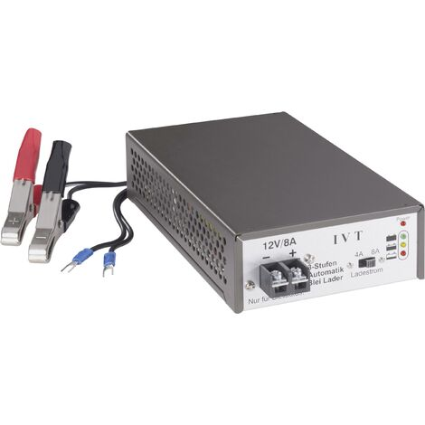 Chargeur pour batteries au plomb IVT 900018 12 V 1 pc(s) S97156