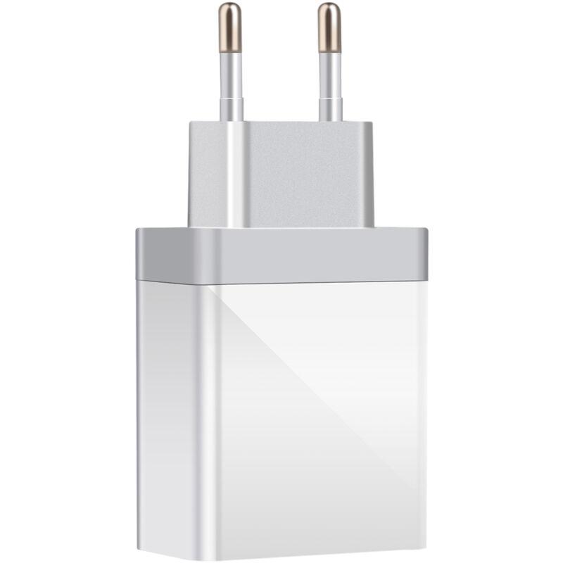 Happyshopping - Chargeur rapide 30W Type-C PD QC3.0 Adaptateur de charge rapide USB C Compatible avec iPhone 12 Pro 11 X Xs 8 Macbook Pro Air iPad