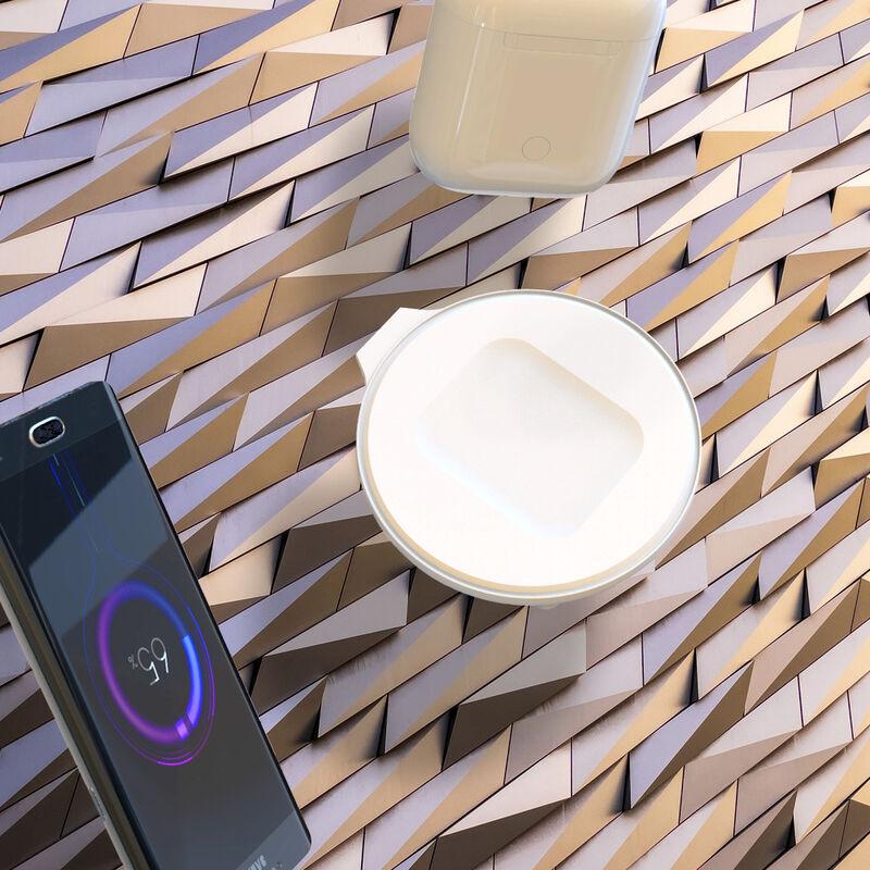 Chargeur sans fil avec chargeur USB Station de charge rapide par induction compatible avec AirPods Pro 2e et 3e génération