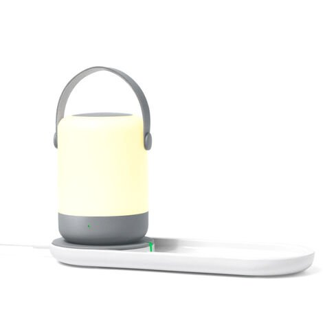 Chargeur Sans Fil Pour Veilleuse Rapide Portable Chargeur Sans Fil 10W 5V 2A Pour 9 Samsung S10, Chargeur Leger Et Sans Fil