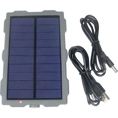 Chargeur solaire Berger & Schröter Wildcam 31884 Courant de charge cellule solaire 300 mA Capacité (mAh, Ah) 1500 mAh 1 pc(s) C651131