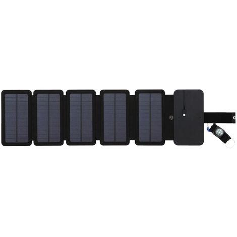 Chargeur Solaire Exterieur Mobile Pliable 5Pcs
