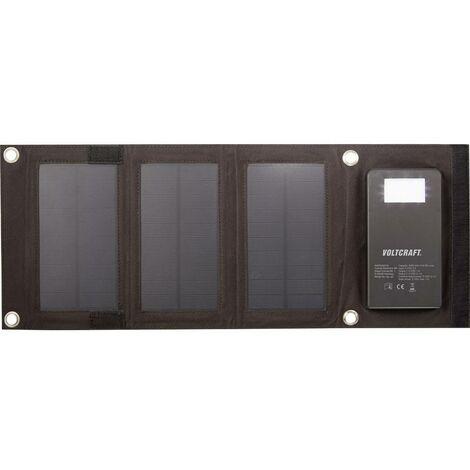 Chargeur solaire VOLTCRAFT SL-4F SL-4F Capacité (mAh, Ah) 4000 mAh 1 pc(s)