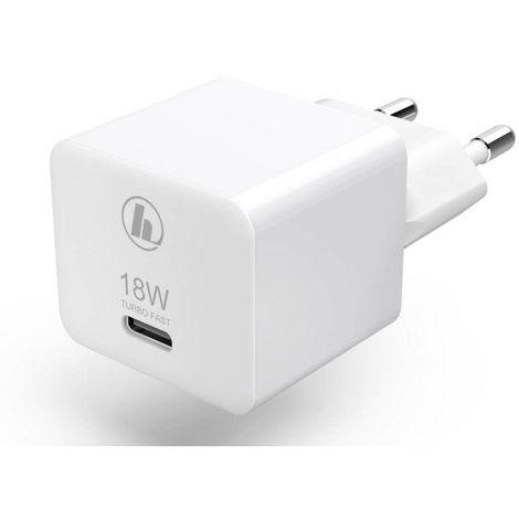 Chargeur USB Hama Mini18 00188350 pour prise murale Courant de sortie (max.) 3000 mA 1 x USB-C femelle 1 pc(s)