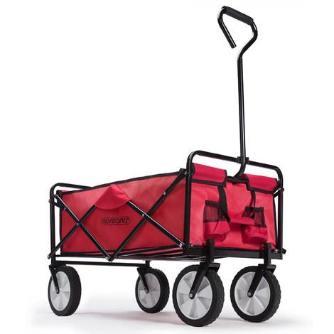Chariot charrette à main rouge - Pliable