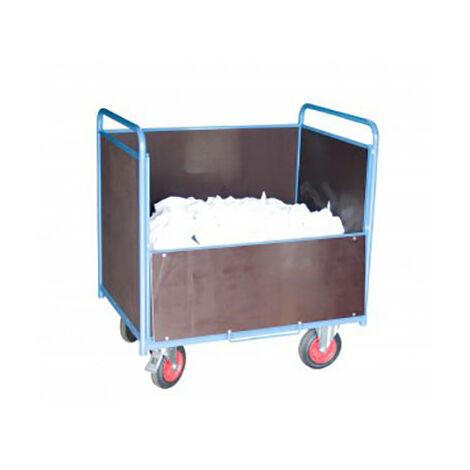 Chariot conteneur ouvert - Bois bakélisés (plusieurs tailles disponibles)