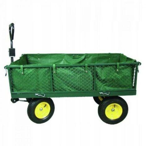 Chariot de jardin 4 roues inclinables