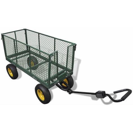 Chariot de jardin doté d'une capacité de charge de 350 kg