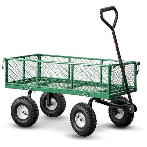 Chariot de jardin en acier 97X52X59CM