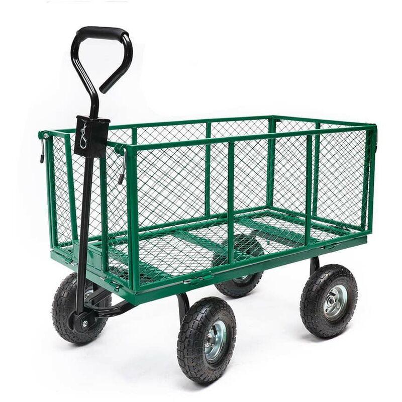 Chariot de jardin métal pliable XXL - OSE