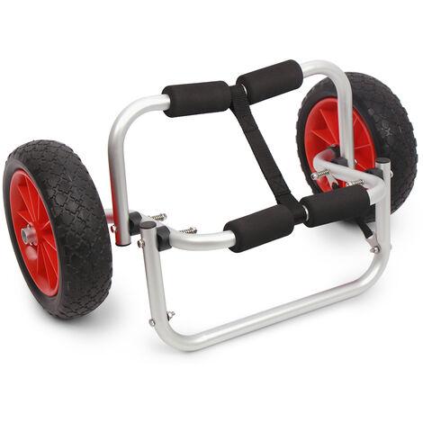 Chariot De Kayak A Double Pneu Detachable De Capacite De Charge De 50Kg, Accessoires De Kayak, Ml1555