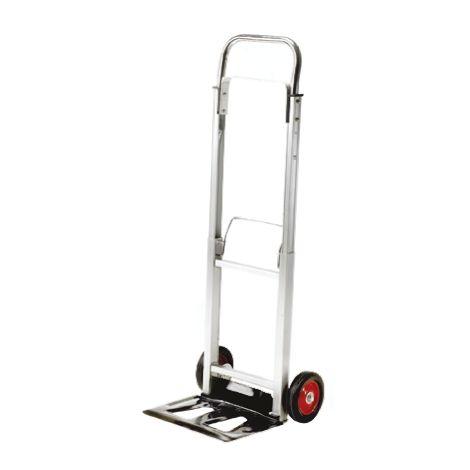 Chariot de levage RS PRO Pliable Aluminium, 355 x 240mm, Capacité de charge 90kg