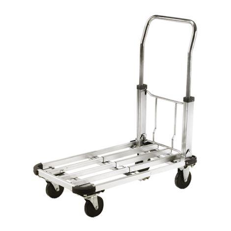 Chariot de levage RS PRO Pliable Aluminium, 430 x 710mm, Capacité de charge 100kg
