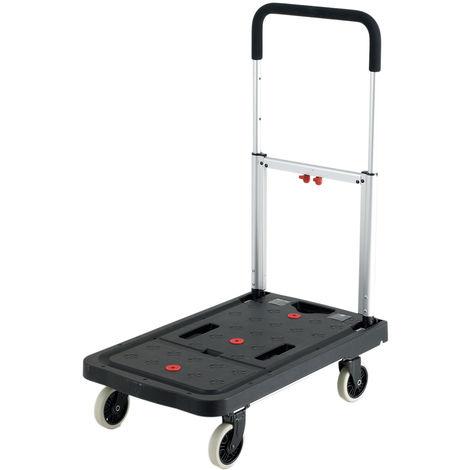 Chariot de levage RS PRO Pliable Plastique, 680 x 410mm, Capacité de charge 120kg