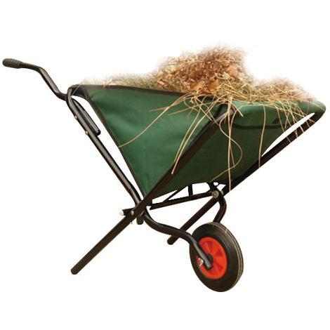 Chariot de main de brouette de chariot de jardin de léger se pliant 50KG