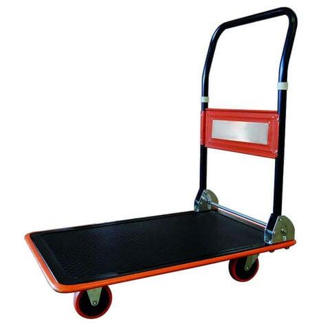 Chariot de manutention rabattable - 150 kg