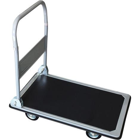 Chariot de manutention robuste - pliable - capacité de 130 kg
