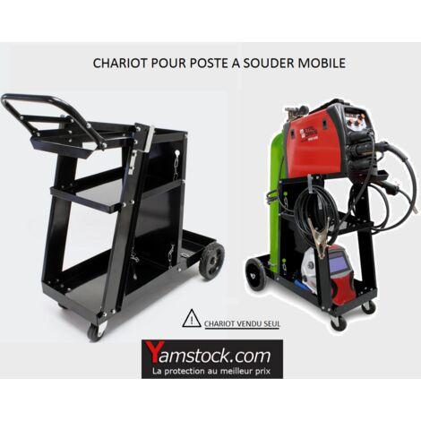 Chariot de soudage mobile pour poste a souder WC