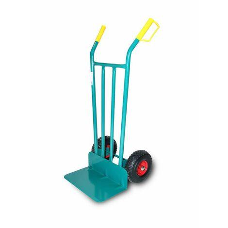 Chariot de stockage de pelle longue pour chariot �l�vateur � fourche Roue pneumatique Disque m�tallique Acier Theca 2500062