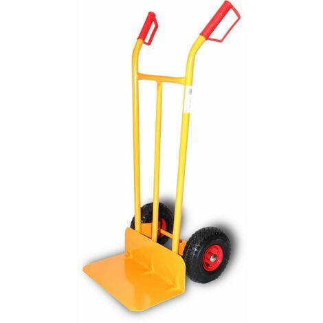 Chariot de stockage de pelles longues Roue pneumatique Roue pneumatique Disque métallique Acier Theca 2500042